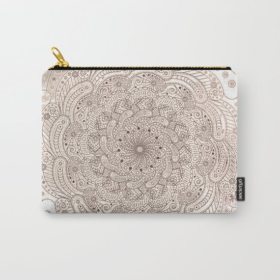 Round ornament Carry-All Pouch