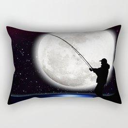 Rock Angler Rectangular Pillow