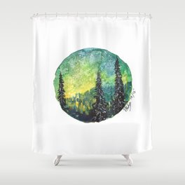 Identify The Infinity Shower Curtain