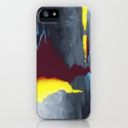 Inside Crystal Mountain iPhone Case