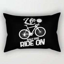 Cycling Rectangular Pillow