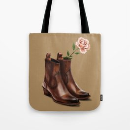 These Boots Tote Bag