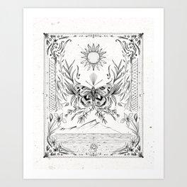 Moth Dream Art Print