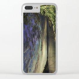 Peek-a-boo Aurora at Folly Cove Clear iPhone Case