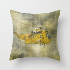 RAF Rescue Throw Pillow