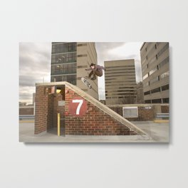 Bam Margera - 7 Bank Metal Print