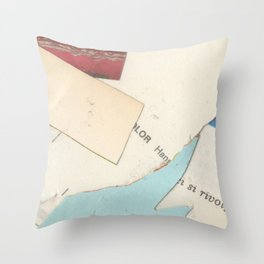 Cutouts I-10 Throw Pillow