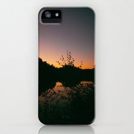 Last Remaining Light (Holme Fen) iPhone Case