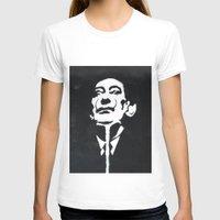 salvador dali T-shirts featuring Salvador Dali Stencil by Michellehill