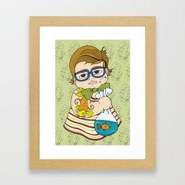 Tattooed Baby 003 Framed Art Print