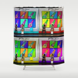 Meet Cute Shower Curtain