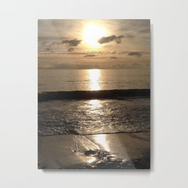 Before The Crest Metal Print