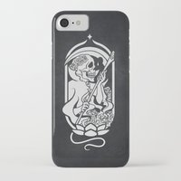 tarot iPhone & iPod Cases featuring Death Tarot by imadamspivak