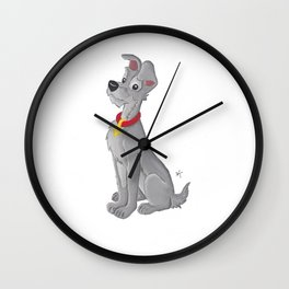 Tramp - Lady And The Tramp Wall Clock