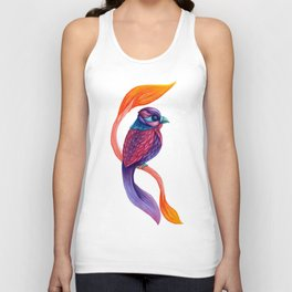 Looking Toward a Feathered Future Unisex Tank Top
