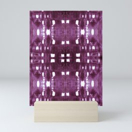 Shibori City Plum Wine Mini Art Print