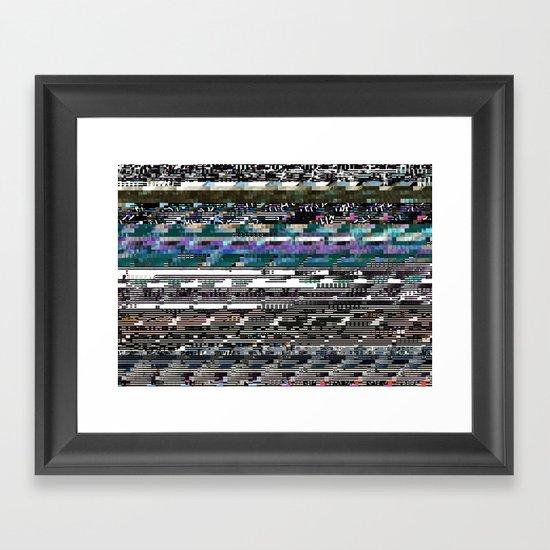 Error 8 Framed Art Print