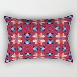 Abstract flower pattern 5h Rectangular Pillow