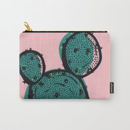 Pink Pastel Cactus Carry-All Pouch