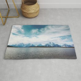 Dreaming of Mountains and Sky Rug