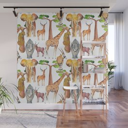 Wild Africa #4 Wall Mural