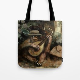 lute sloth Tote Bag