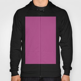 Purple-Toned Rose Pink - Solid Plain Block Colors - Dusky / Warm / Soft / Summer Colours / Feminine / Girly / Minimalist / Floral / Flower Hoody