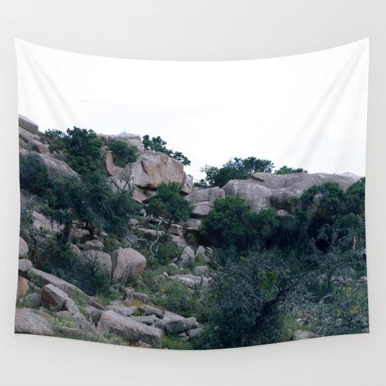 enchanted rock  Wall Tapestry