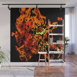 flame abstract Wall Mural