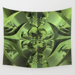 Cool Green of Summer Wall Tapestry
