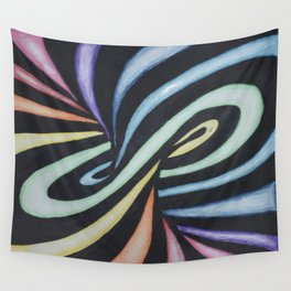 Rainbow of design Wall Tapestry