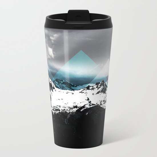 Mountains IV Metal Travel Mug