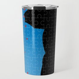 Love Jigsaw Travel Mug