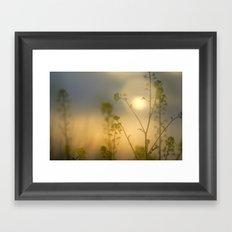 Little forest Framed Art Print