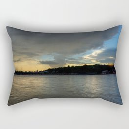 Evening with the Ganges... Rectangular Pillow