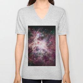 Cosmic Nebula. Unisex V-Neck