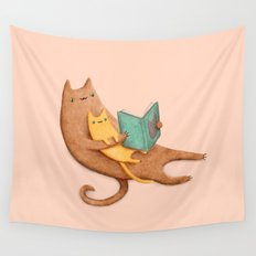 The Cat's Mother Wall Tapestry