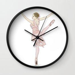 Ballerina Classical Ballet Wall Clock