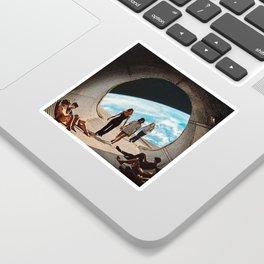 'Scifi Kids' Sticker
