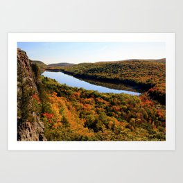 Autumn Splendor Art Print