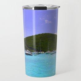Sailing in the British Virgin Islands Travel Mug