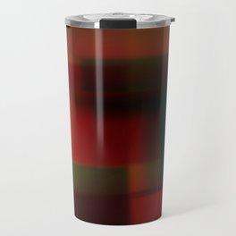Blured squares Travel Mug