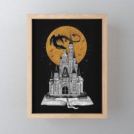 Fairytale Book Framed Mini Art Print