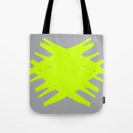 Accordian Summer X | neon green Tote Bag