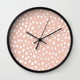 LEOPARD PINK Wall Clock