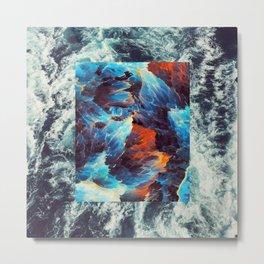 Lunar Tide Metal Print