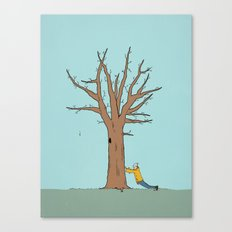 Immovable Canvas Print