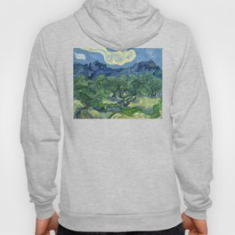 The Olive Trees by Vincent van Gogh Hoody