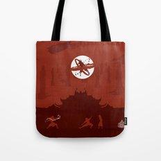 Avatar Book Fire - Version 2 Tote Bag