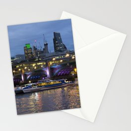 Thames London Twylight Stationery Cards